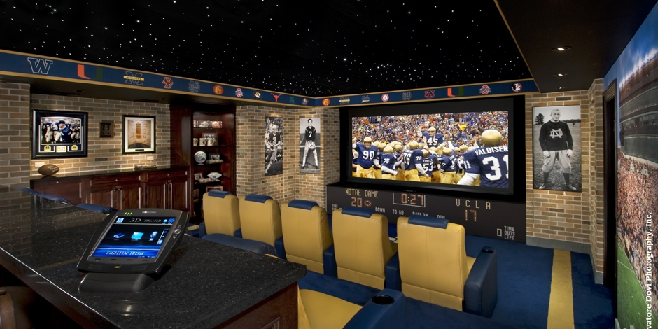 "IES Says, ""You're Not a Real Fan if You Don't Have a Dedicated Sports Theater like This!"""
